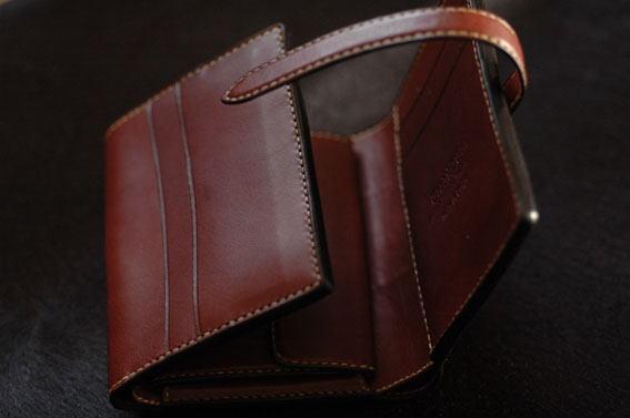 TRAD-BISON 三つ折り財布